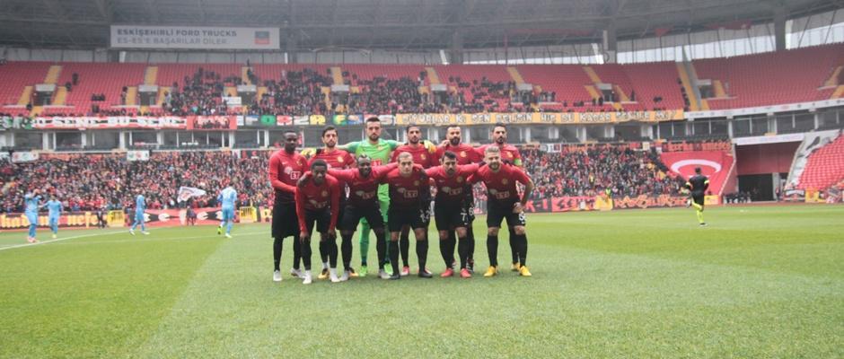 Eskişehirspor : 1 - Osmanlıspor FK. : 2