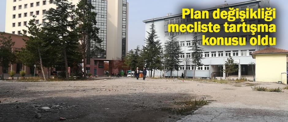Plan değişikliği veto edildi