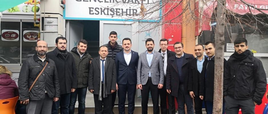 TÜGVA Genel Başkanı Eminoğlu'ndan Eskişehir çıkarması