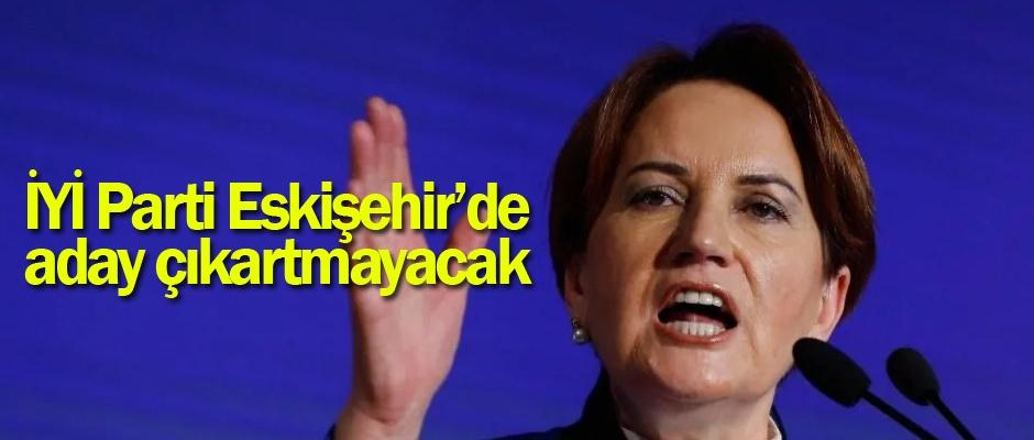 İYİ Parti Büyükerşen'i destekleyecek