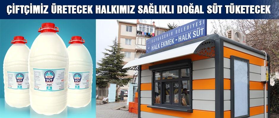 Büyükerşen'in Halk Süt Projesi hayata geçiyor