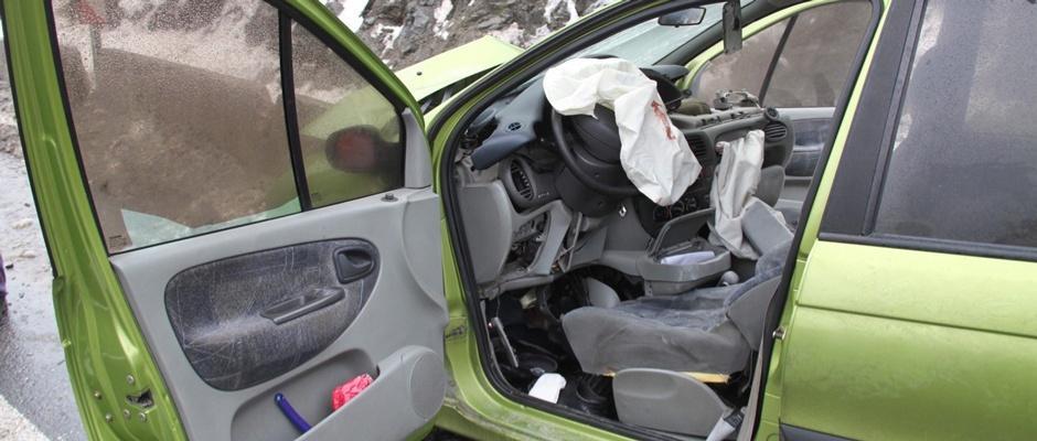 Kazada yaralanan yaşlı kadın hayatını kaybetti