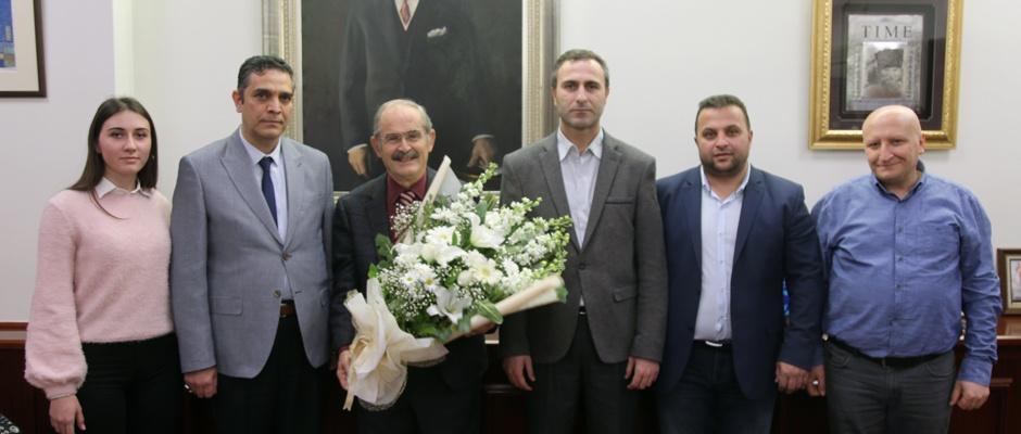 Belediye iş Sendikası'ndan Büyükerşen'e ziyaret