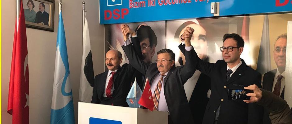 DSP ilçe adaylarını açıkladı