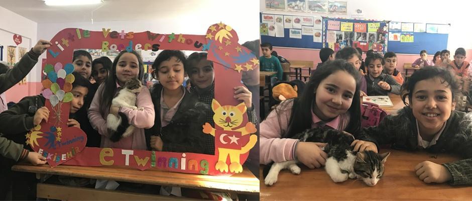 Minik öğrenciler projeleri ile Türkiye'nin adını duyurdu