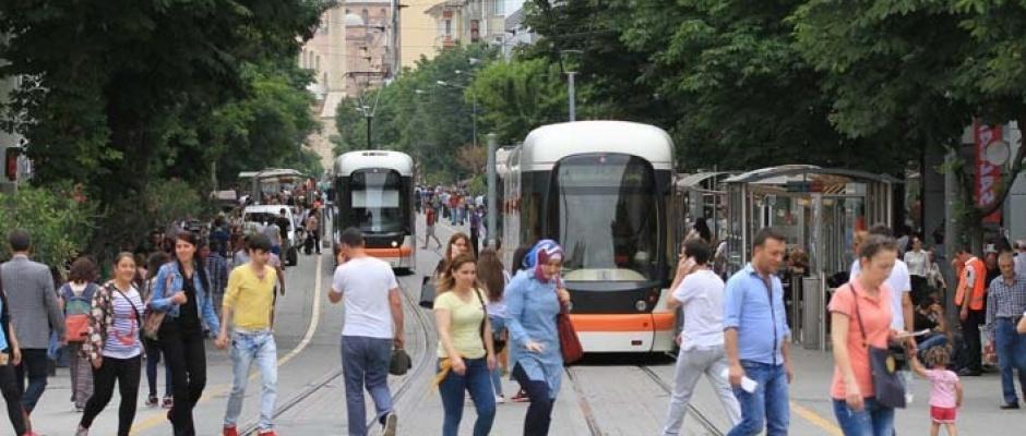 Türkiye'nin en güvenli şehri yine Eskişehir oldu