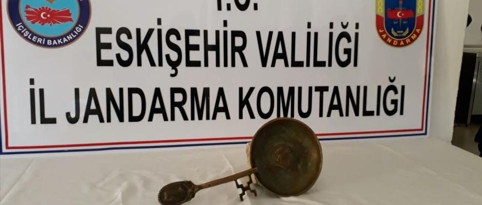 Eskişehir'de tarihi eser operasyonu