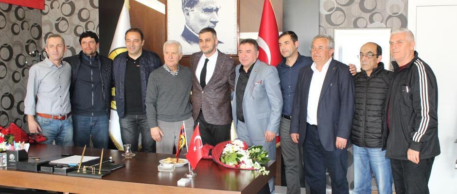 TÜFAD, Eskişehirspor'u ziyaret etti