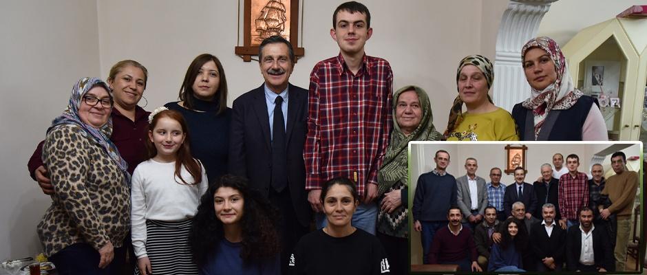 Başkan Ataç ev ziyaretlerini sürdürüyor