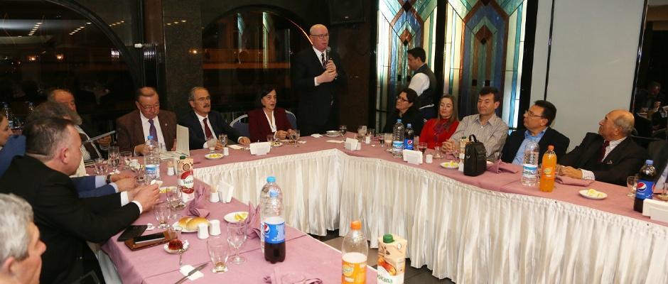 Başkanlar Sivrihisarlılar ile buluştu