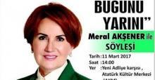 Akşener, Eskişehir'e geliyor