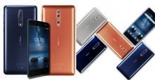 Özenle tasarlanmış Nokia 8