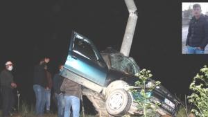 Kütahya'da feci kaza: 1ölü
