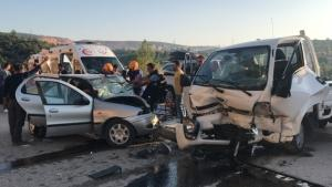 Bilecik'te feci kaza: 4 yaralı