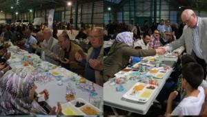 Odunpazarı'ndan 5000 kişi ile iftar