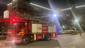 Eskişehir Şehir Hastanesinde korkutan yangın