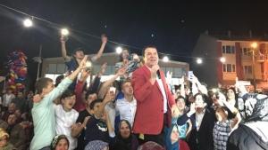 Beylikova'da Mithat Körler coşkusu