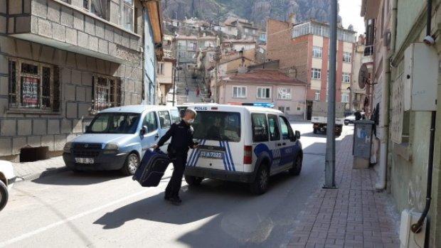 Afyon'da bir garip bavul hırsızlığı