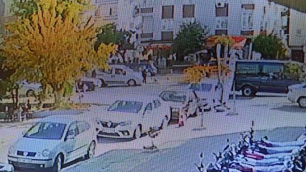 Kaza anı kamerada