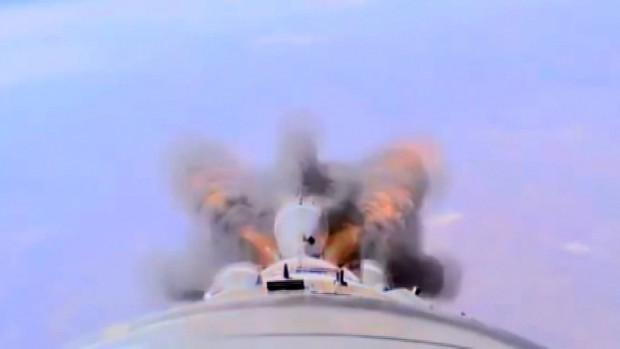 Soyuz böyle infilak etti