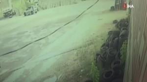 İki kişinin öldüğü kaza güvenlik kameralarına böyle yansıdı