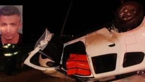 Sulama kanalına uçan otomobil sürücüsü hayatını kaybetti
