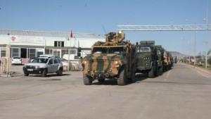 Komandolar Hücum Marşı'yla sınır hattına gitti
