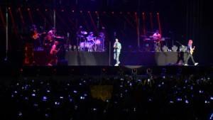 Maroon 5 Antalya'yı salladı