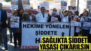 Eskişehir'de doktorlar eylem kararı aldı