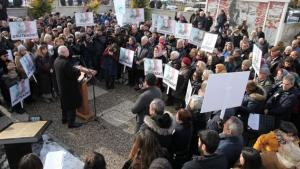 Eskişehir'de Uğur Mumcu için anma töreni